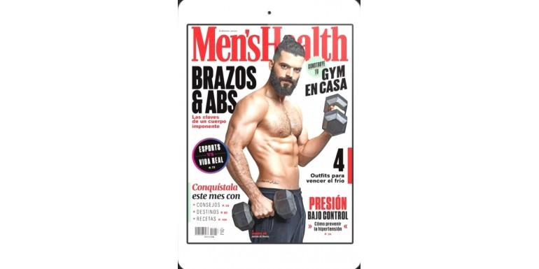 Artículo recomendado en la revista Men,s Health