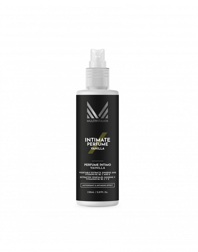 Fragancia desodorante íntimo con perfume aroma a vainilla